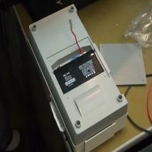 Замена аккумулятора на электрокардиографе «Валента» ЭКГК-01