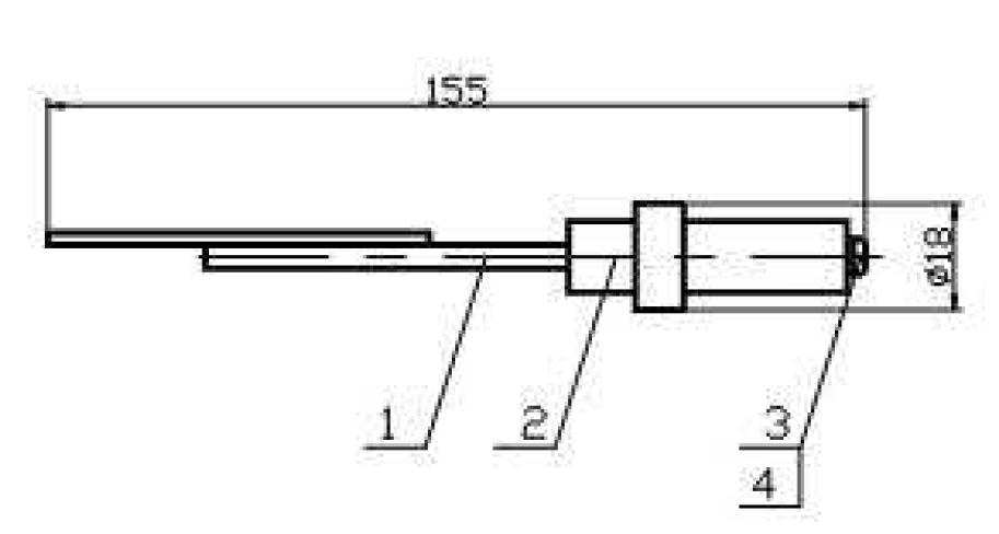 Схема датчика уровня воды 638