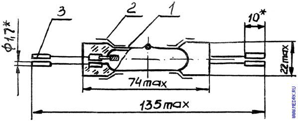 лампы ДРТ 125-1