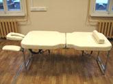 Переносной профессиональный складной массажный стол-«чемодан» FysioTech Compact Maxi