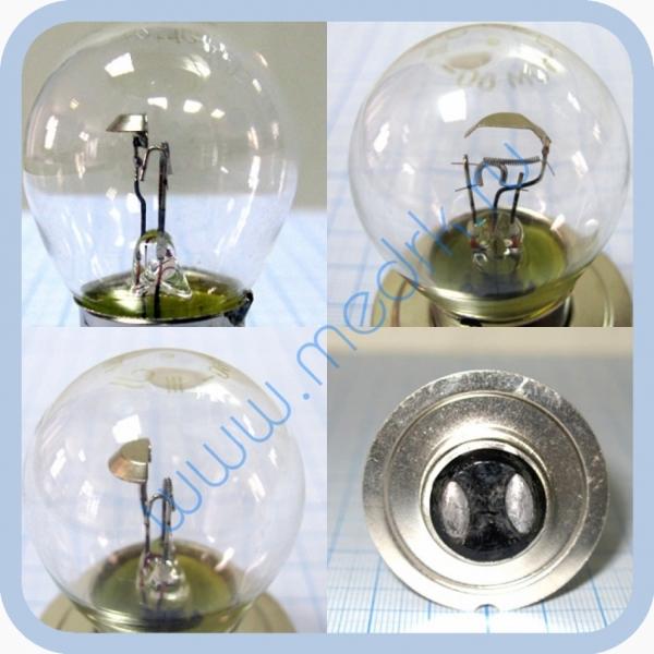 Лампа накаливания автомобильная А 12-50+40  Вид 1