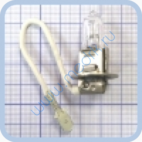 Лампа накаливания АКГ 24-65-1 (h3) PК22s  Вид 3
