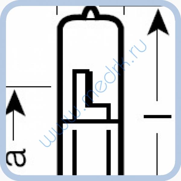 Лампа галогенная (галогеновая) Philips 13100 100W 12V GY6.35  Вид 3