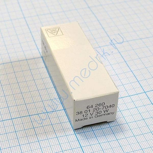Лампа галогенная (галогеновая) Osram 64260 12V 30W PG22  Вид 2