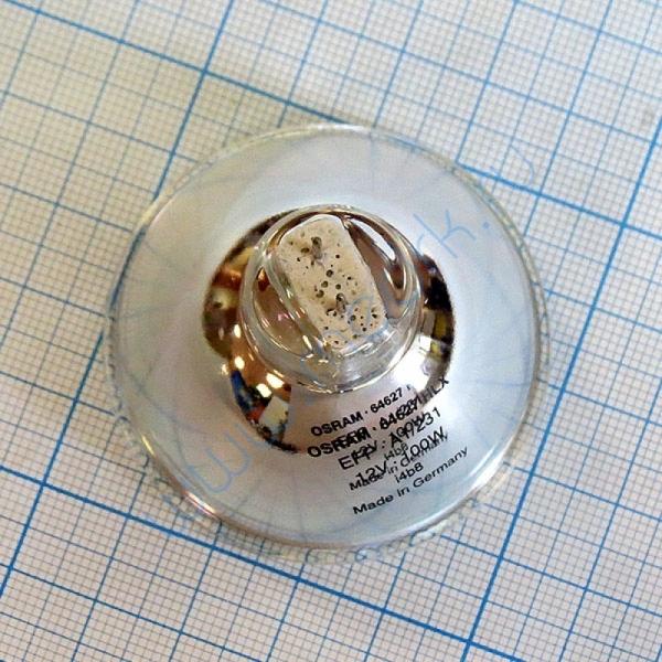 Лампа галогенная (галогеновая) Osram HLX 64627 12V 100W GZ6,35  Вид 5