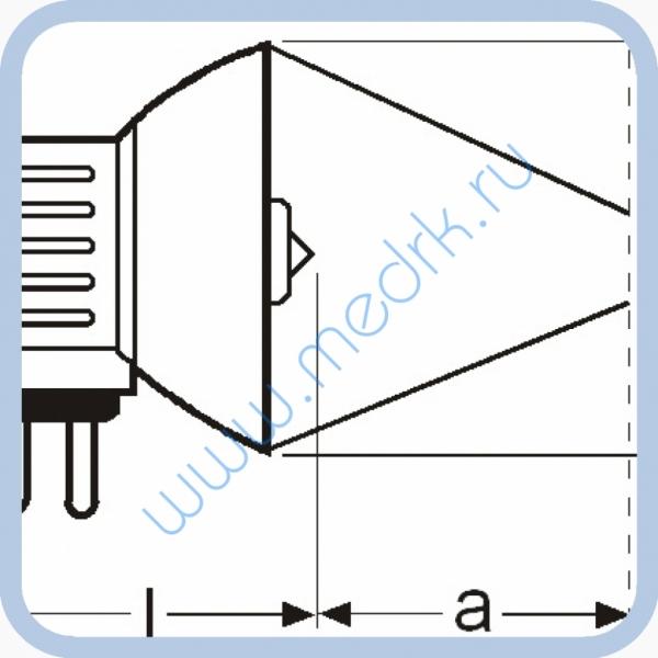 Лампа галогенная (галогеновая) Osram 93631 21V 150W GX7,9  Вид 6