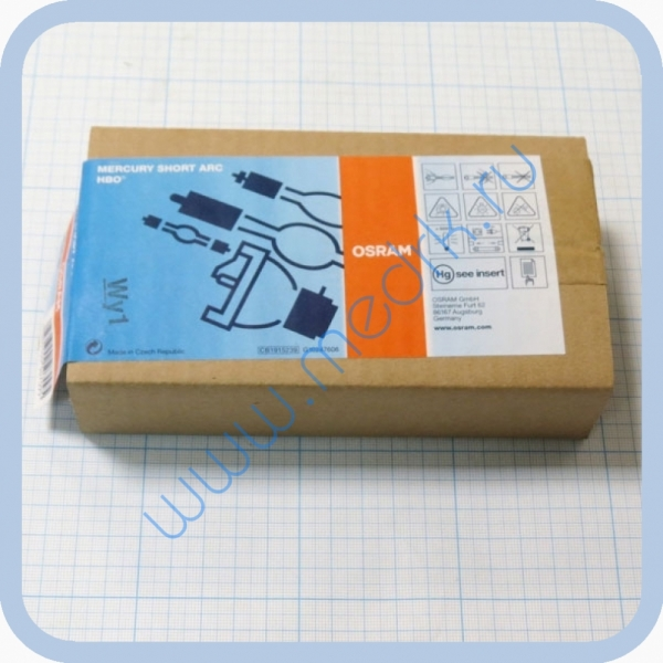 Лампа ртутная Osram HBO 100 W/2 20,5V 100W SFa