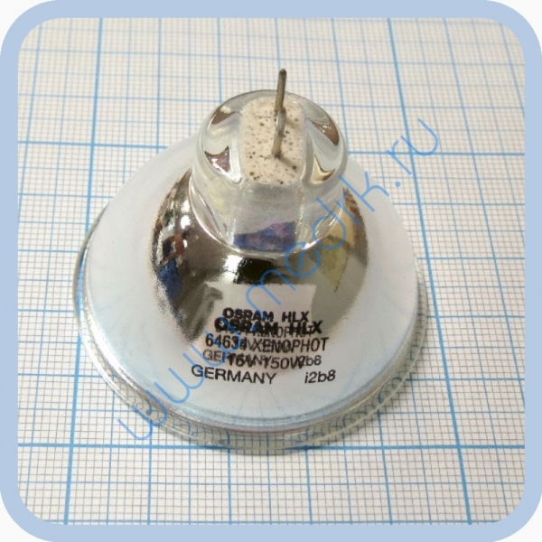 Лампа галогенная (галогеновая) Osram HLX 64634 15V 150W GZ6,35  Вид 4