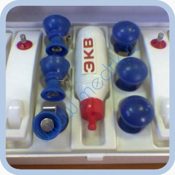 Комплект ЭКГ с плоскими токосъемниками  Вид 1