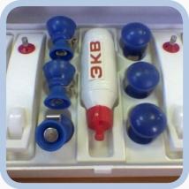 Комплект ЭКГ с плоскими токосъемниками