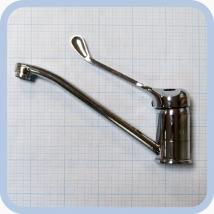 Смеситель на раковину локтевой хирургический Diana ДИ-14\х