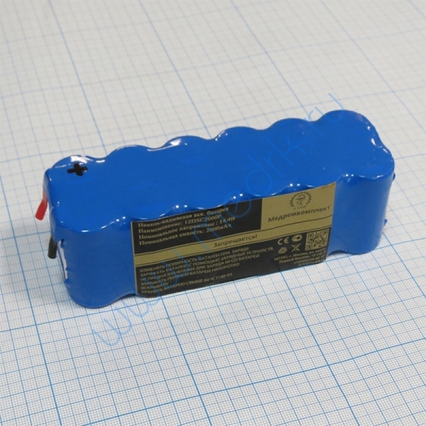 Батарея аккумуляторная 12D-SC2000P (МРК)  Вид 1