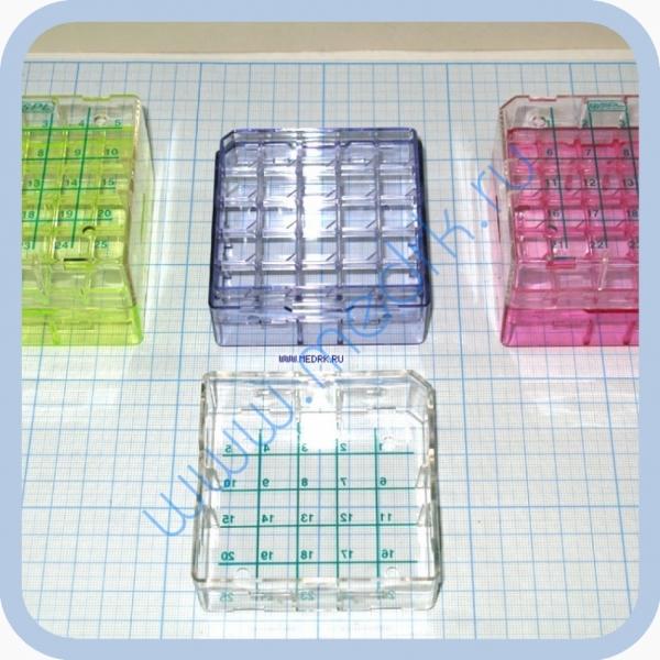 Криоштатив для пробирок 1,5..2,0 мл х 25 ячеек  Вид 1