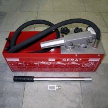 Опрессовщик ручной Gerat TP-60 для трубопроводов и труб