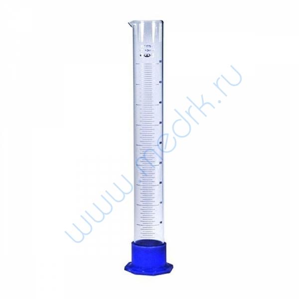 Цилиндр мерный 3-500-2 с носиком  Вид 1