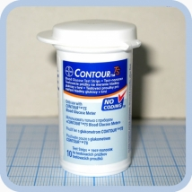 Тест-полоски для глюкометра Bayer Contour TS