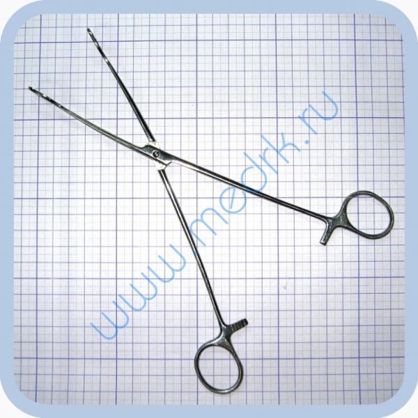 Щипцы кишечные окончатые для взрослых 240 мм