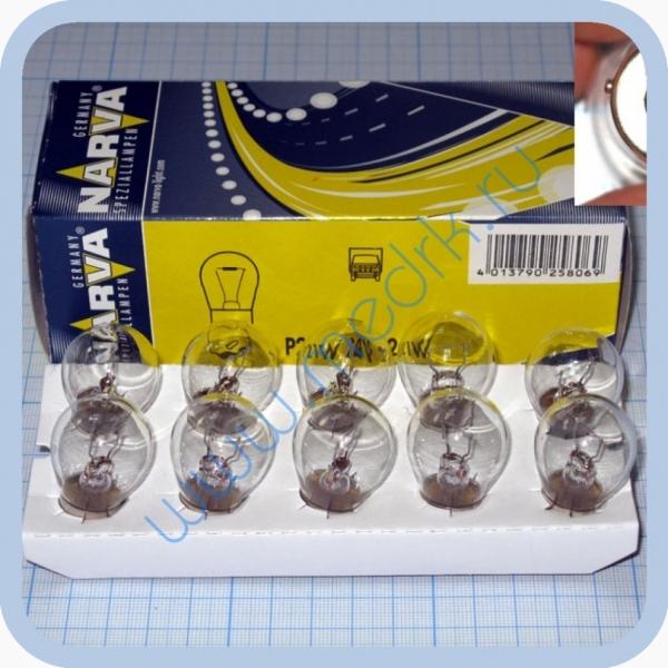 Лампа автомобильная Narva 17643 P21W 24V 21W BA15s  Вид 1