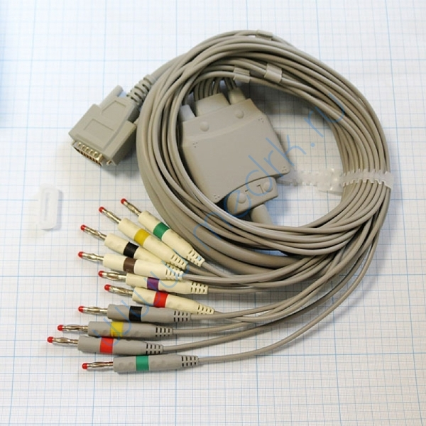 Электрокардиограф портативный Biocare ECG-300G  Вид 6