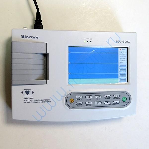 Электрокардиограф портативный Biocare ECG-300G  Вид 9