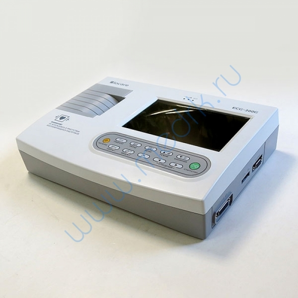 Электрокардиограф портативный Biocare ECG-300G  Вид 12