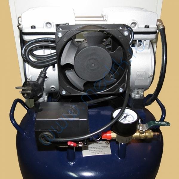Компрессор стоматологический воздушный 70л КС-60-01 в звукоизолирующей тумбе  Вид 1