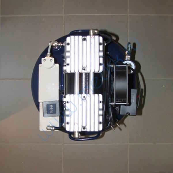 Компрессор стоматологический воздушный 70л КС-60-01 в звукоизолирующей тумбе  Вид 2