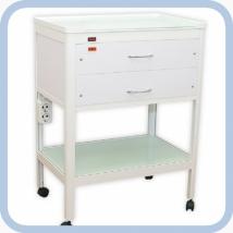Стол стоматологический с 2 ящиками (один - с УФ-облучателем)