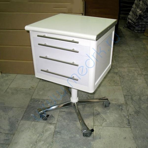 Тумба стоматологическая передвижная с 3 ящиками арт. 21810  Вид 1