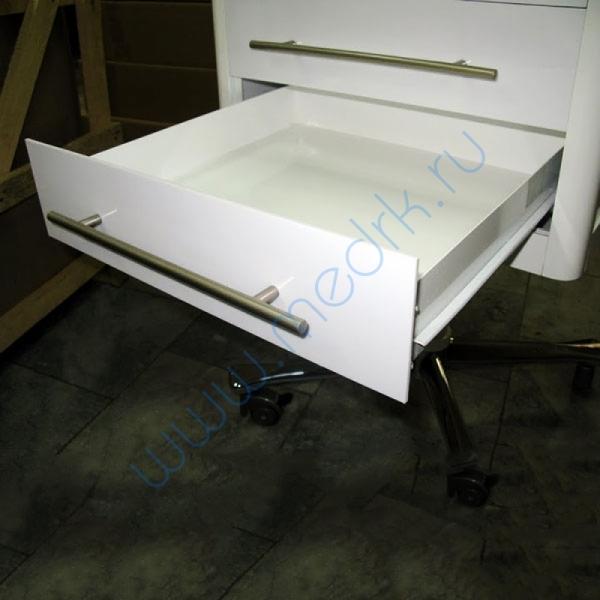 Тумба стоматологическая передвижная с 3 ящиками арт. 21810  Вид 4