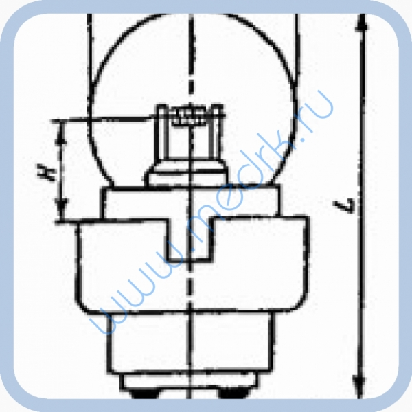 Лампа ОП 6-3-В5  Вид 2