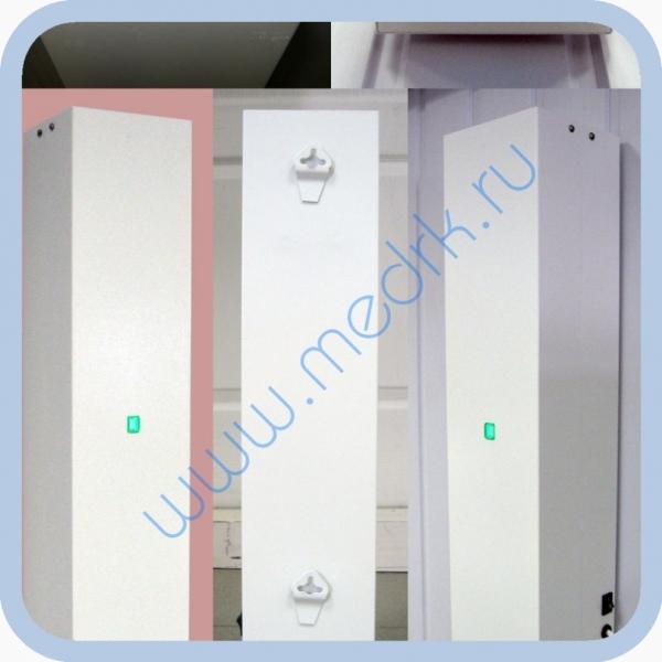 Облучатель рециркулятор бактерицидный ультрафиолетовый ОБНР 2х8-01  Вид 1