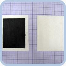 Электрод прямоугольный одноразовый 60х80 мм