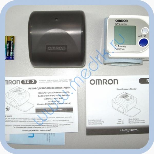 Тонометр Omron RX3