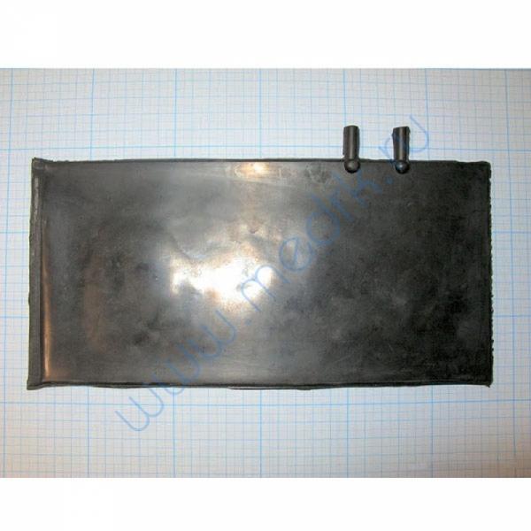 Камера резиновая вар.4, двухтрубочная 12мм (пневмокамера к тонометру)  Вид 1