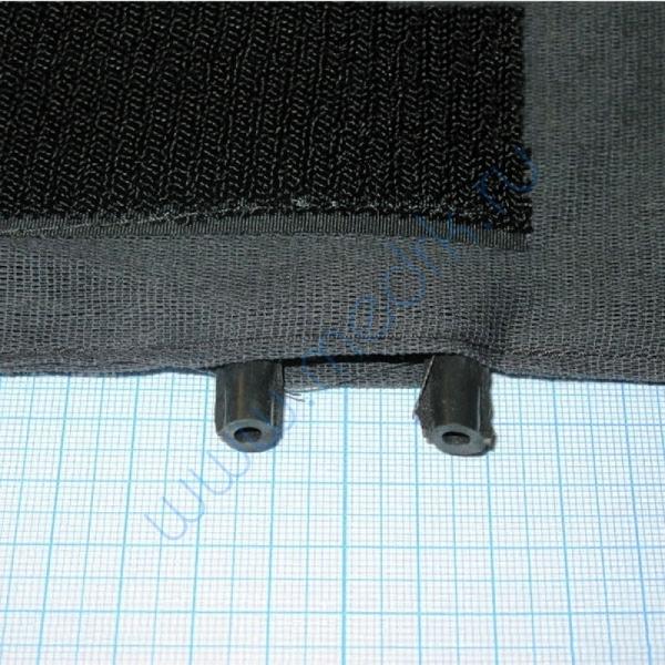 Камера резиновая вар.4, двухтрубочная 12мм (пневмокамера к тонометру)  Вид 10