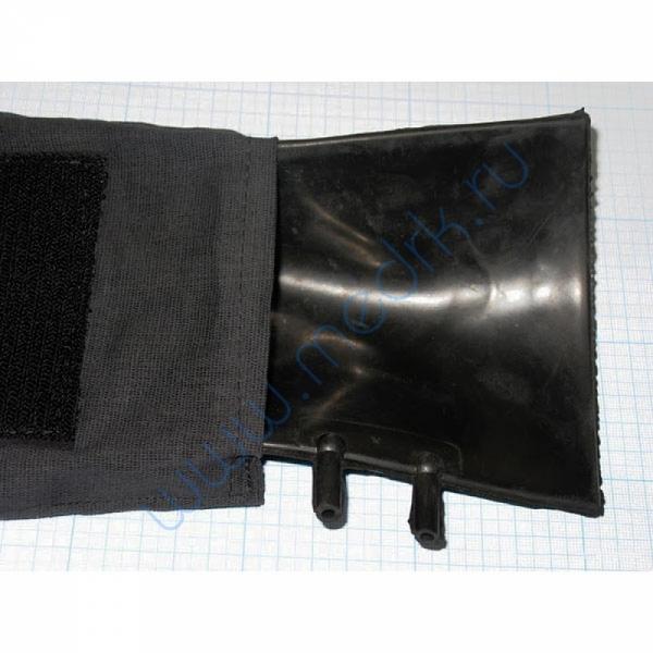 Камера резиновая вар.4, двухтрубочная 12мм (пневмокамера к тонометру)  Вид 11