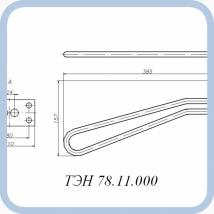 ТЭН 78.11.000 (2кВт, 220В, медь, вода)