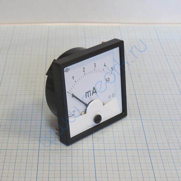 Миллиамперметр М423000..5/50 мА1,5  Вид 5