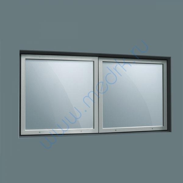 Окно рентгенозащитное составное 400х800х10мм  Вид 1