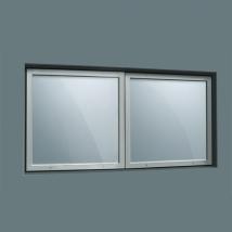Окно рентгенозащитное составное 400х800х10мм
