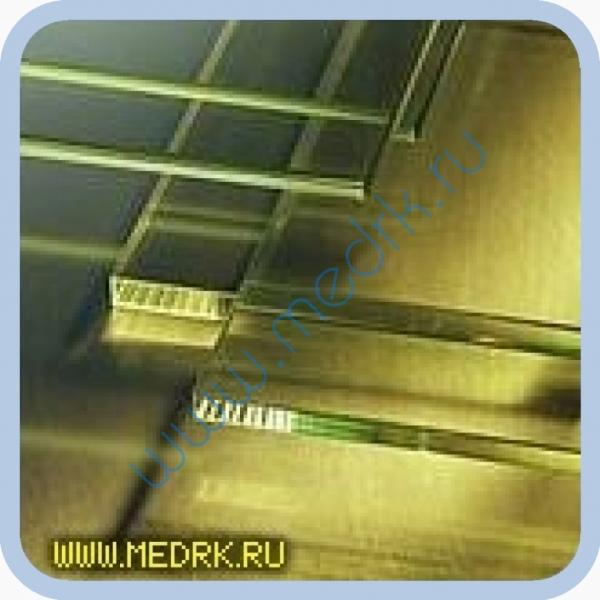 Стекло рентгенозащитное ТФ-5 356х356х10мм  Вид 1