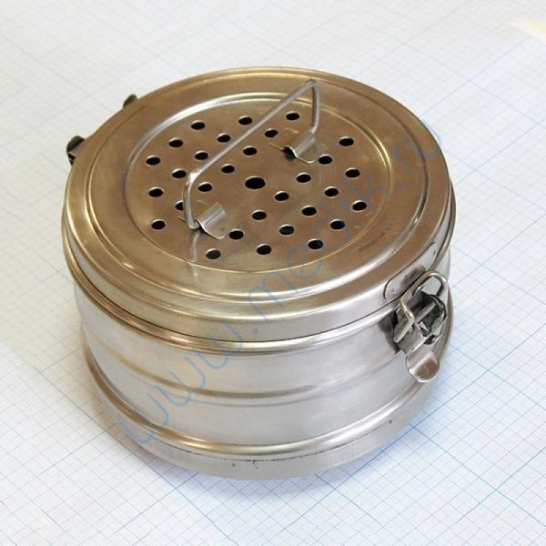 Коробка стерилизационная D-3 с фильтрами  Вид 1