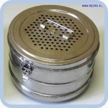 Коробка стерилизационная D-6 с фильтрами