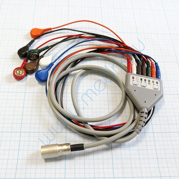 Кабель для ЭКГ регистратора Astrocard HS E2-B