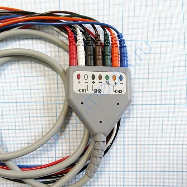 Кабель для ЭКГ регистратора Astrocard HS E2-B  Вид 2