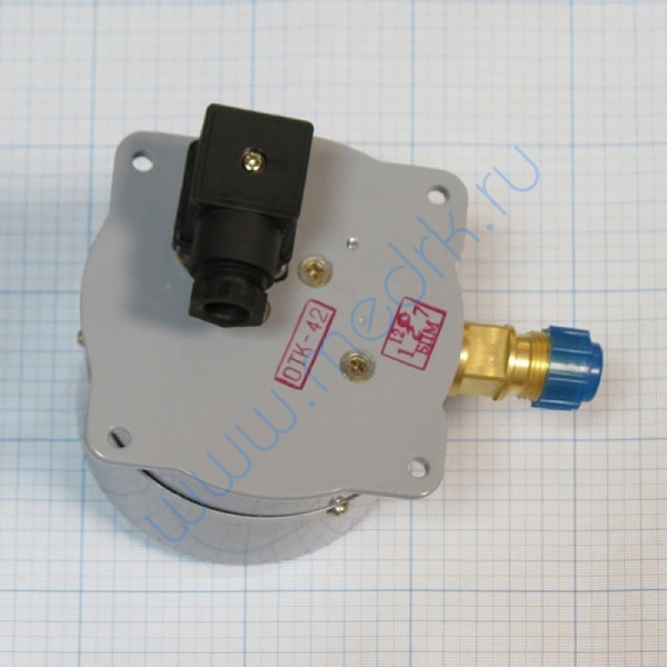 Манометр ДМ-2010 СгУ2 (0-400кПа) с фланцем исп. 5  Вид 3