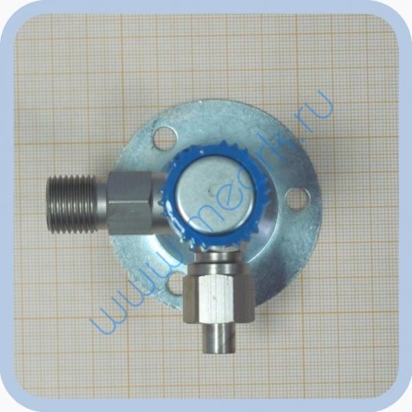 Клапан запорный К-2102-16 правый (игольчатый вентиль)  Вид 1