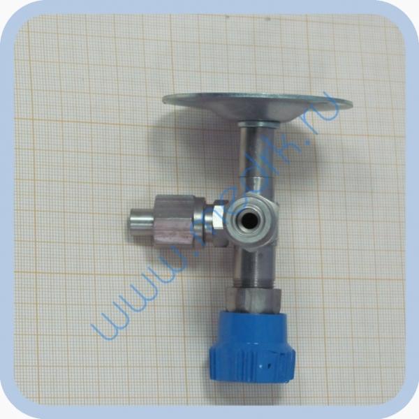 Клапан запорный К-2102-16 правый (игольчатый вентиль)  Вид 2