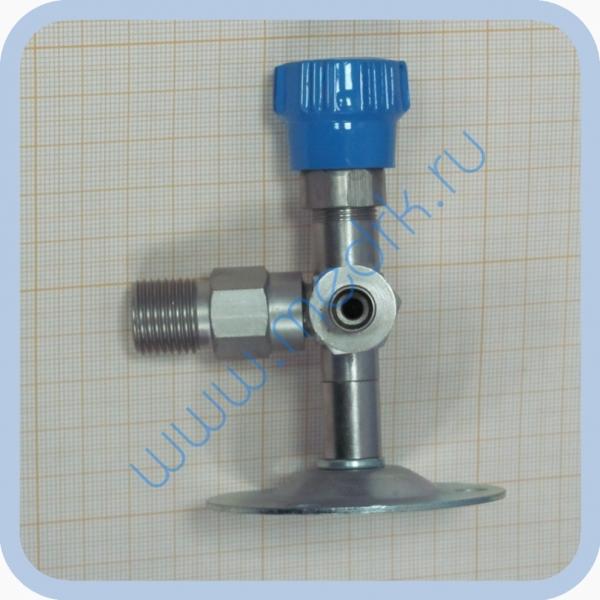 Клапан запорный К-2102-16 правый (игольчатый вентиль)  Вид 3